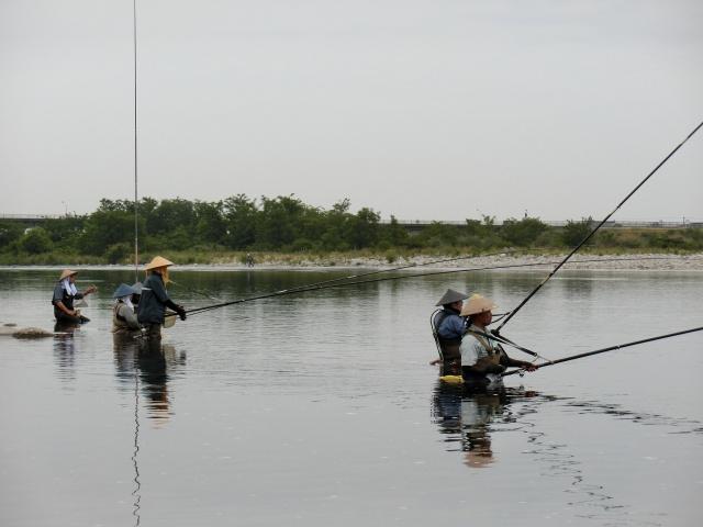 富山の河川解禁に釣行
