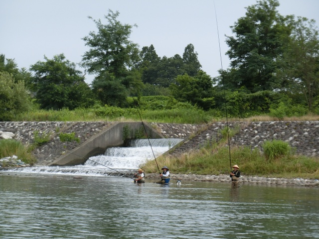 地元の釣り師たち
